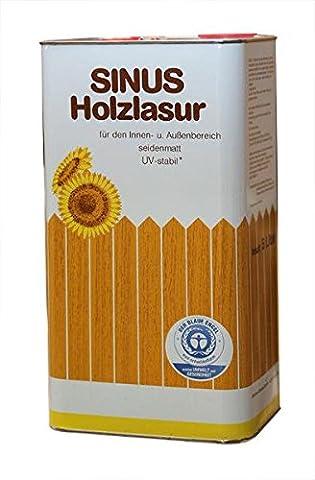 Lasure Blanc Bois Exterieur - 4x 5l Lasure pour bois Sinus/Lasure de