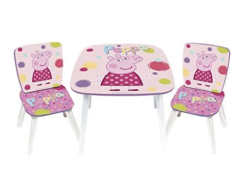 ARDITEX PP8377 - Set de Mesa y 2 sillas