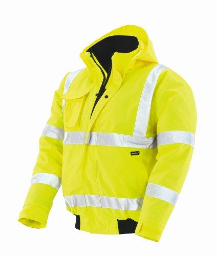 Preisvergleich Produktbild teXXor Warnschutz-Pilotenjacke Whistler wasserdichte, winddichte Arbeitsjacke, M, gelb, 4118
