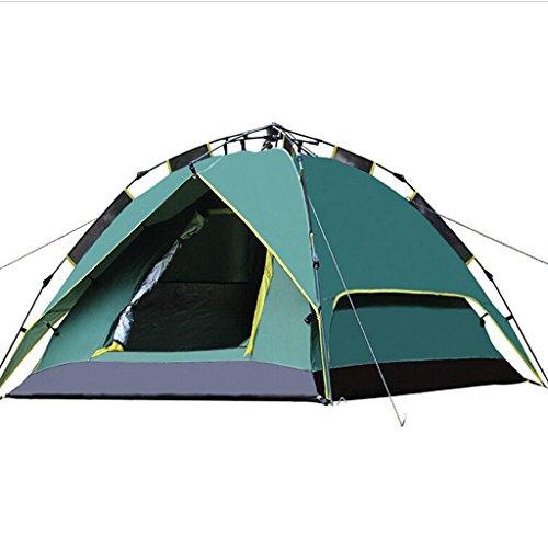 MEI XU Markisentuch Im Freien 3-4 Leute-doppelte kampierende automatische Zelte im Freien doppelte Boden-Campingzelt-Satz @