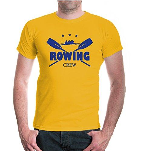 buXsbaum® T-Shirt Rowing Crew Sunflower-Royal