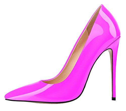 Guoar - Scarpe chiuse Donna Rosa (rosa)