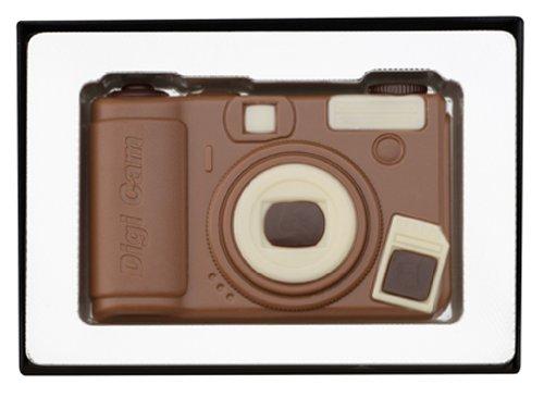 Schokolade-online Geschenkbox Digitalkamera, 8 Stück je 70g, Größe 115x150 mm