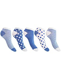 Floso - Socquettes (lot de 5 paires) - Femme