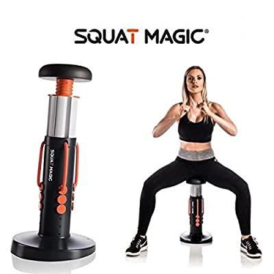 Squat Magic Lower Body & Core Workout Exercise Machine Unisex Legs & Core Toning from New Image