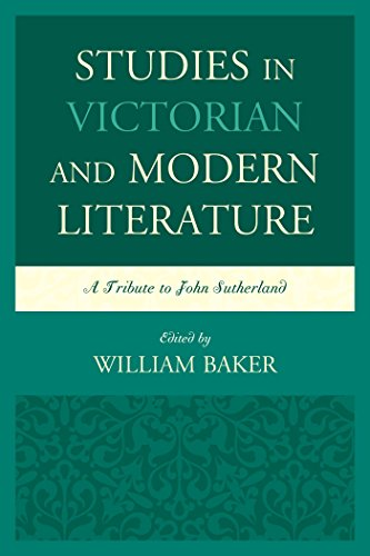 studies-in-victorian-and-modern-literature-a-tribute-to-john-sutherland