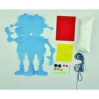 Andreu Toys 20x 20x 5cm Funny Robot (Mehrfarbig)