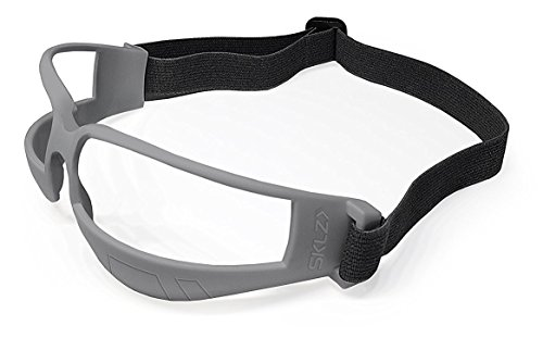 SKLZ Trainingsgerät Court Vision Basketball Dribble Trainingsbrille Schwarz/Grau, One Size