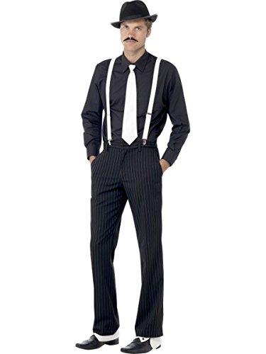 Smiffys Herren Kostüm Zubehör Mafia Gangster Mafiosi Karneval Fasching