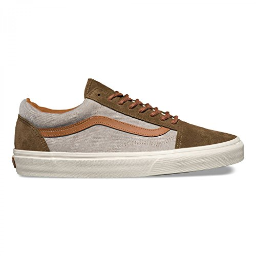 Vans Va2xs6k9b Old Skool Reissue Black (brushed) teak/