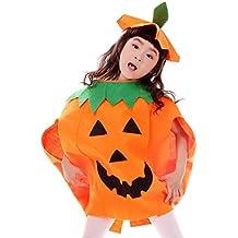 JT-Amigo Déguisement Citrouille Enfants Costume Halloween Carnaval