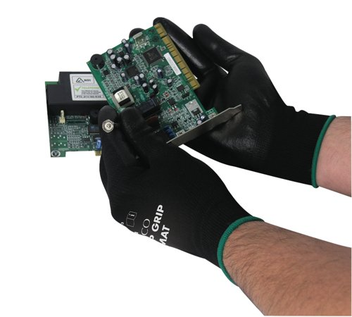 polyco-matrix-p-grip-gloves-size-9-black-ref-403-mat-pack-12