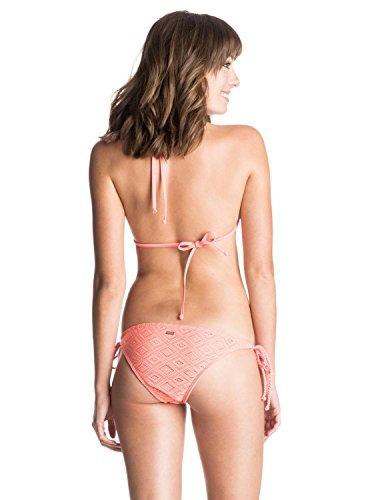 Roxy Damen Hazy Daisy Bikini Set Sunkissed Coral