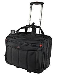 Trolley, Businesskoffer, Aktenkoffer, Pilotenkoffer, Aktentrolley mit Laptopfach, Dokumentasche, Handgepäck, Boardgepäck, Business-Akten-Trolley,