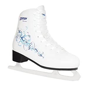 Patins à glace TEMPISH DREAM motif bleu pointure 41