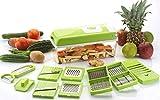 Bluewhale Advance 12 in 1 Multi-Purpose Vegetable & Fruit Grater, Slicer, Cutter, Vegetable