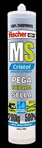 fischer-silicona-ms-sellante-adh-cristal-48891