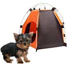 Ducomi caseta para Perro, Plegable y Portátil para Perros de pequeño tamaño – Tienda de