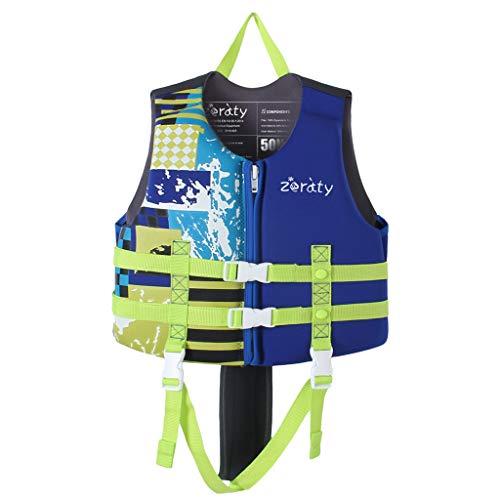Zeraty Kinder Schwimmweste für Kleinkinder mit Armbändern Floatation Sleeves Alter 1-9 Jahre / 22-50 lbs/Blau
