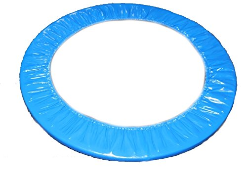 awshop24 Trampolin Randabdeckung blau 100 cm Fitness Gesundheitstrampolin Minitrampolin Fun Jumping Rund 1m ...