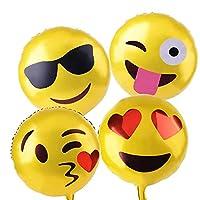 Xpizo Reusable Emoji Party Balloons
