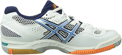 Herren 0141 GEL Volleyballschuhe BLUE Asics DIVA WHITE TACTIC LIGHTNING Weiß RvwnOqE