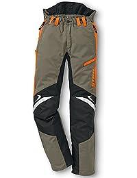 Stihl Pantalon de protection Fonction ERGO Vert olive / orange / noir, 52, 1