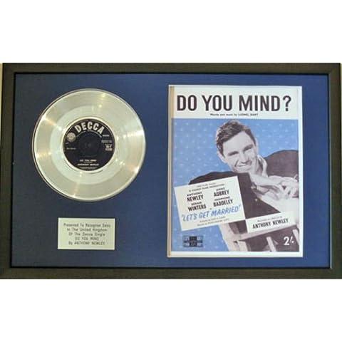 Anthony Newley-Platinum disco & Sheet-Song