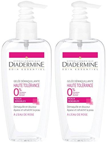 Diadermine - Gelée Démaquillante Haute Tolérance - 200 ml - Lot de 2