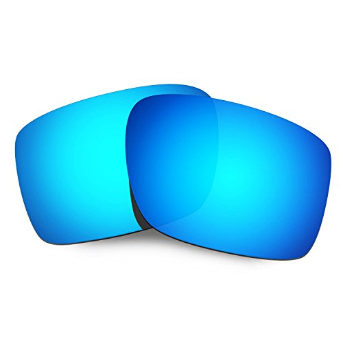 HKUCO Mens Replacement Lenses For Oakley Double Edge Sunglasses Blue Polarized