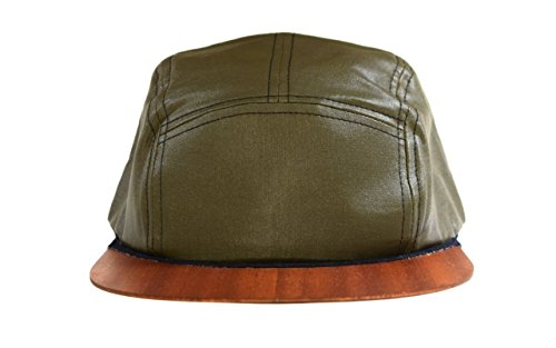 5 Panel Cap Snapback grün mit Holzschild | Prime Day-Angebot | Made...