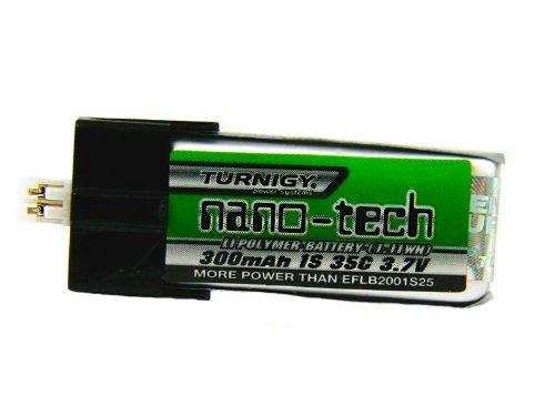 Turnigy nano-tech 300mAh Lipo Akku 1S 35C Blade mCPX / FBL100 EFLB2001S25 - Akku Mcpx