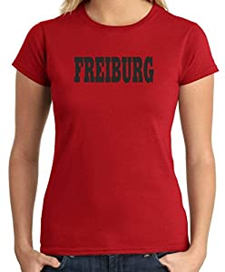 T-Shirtshock - T-shirt Frauen WC0806 FREIBURG GERMANY CITY