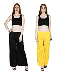 marami trouser black yellow