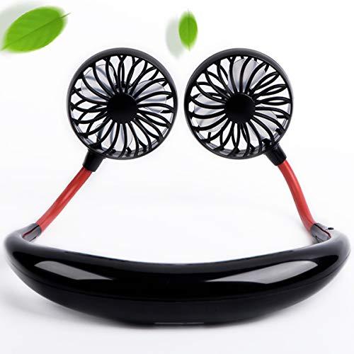 TTMOW Mini Ventilador Portatil de Mano, Ventilador Cuello USB Bateria Recargable, Fuerte Viento Pero...