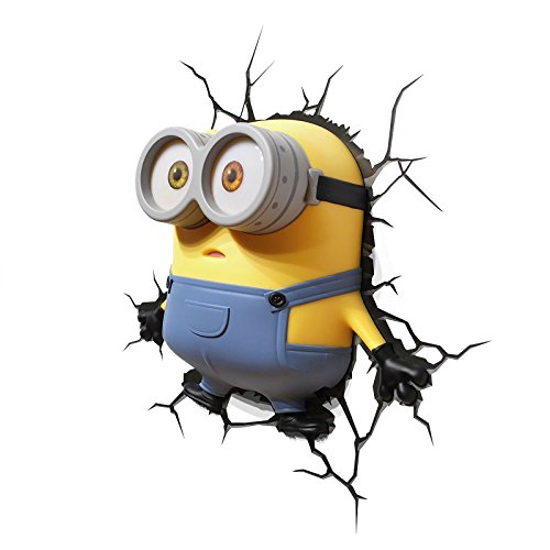 Image of Despicable Me Minions 3D Wall Light (Bob)