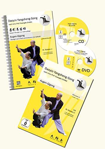 AUGEN-QIGONG SET (DVD,CD,Lehrunterlage): Set Augen-Qigong