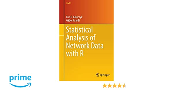 Statistical Analysis of Network Data with R (Use R!): Amazon co uk