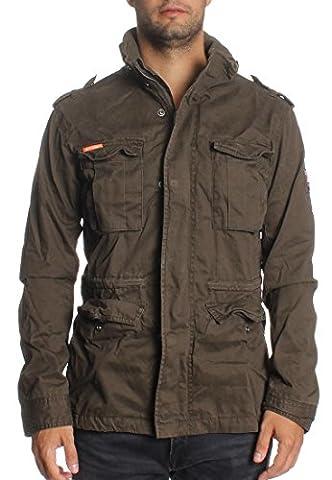Superdry Jacke Men CLASSIC ROOKIE MILITARY JACKET Forest Khaki, Größe:M