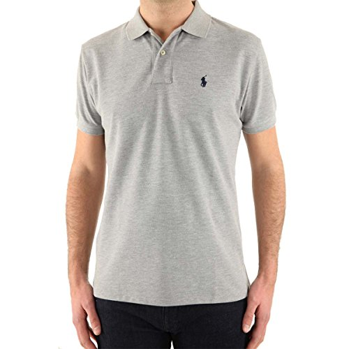 ralph-lauren-poloshirt-small-pony-custom-fit-homme-multicolore-large-new-xl-gris