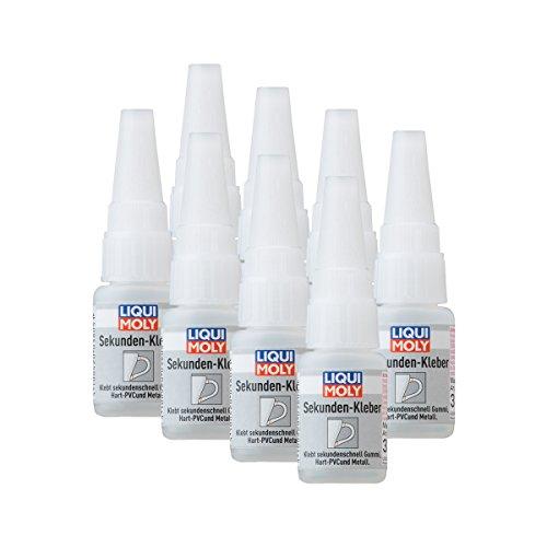 8x LIQUI MOLY 3805 Sekunden-Kleber Super Glue Instant 10g