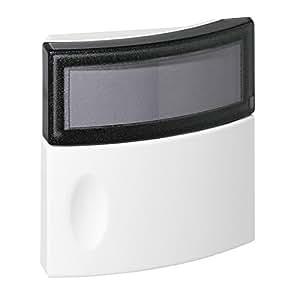 legrand leg94247 schalter mit etikettenfenster und kontrolllampe schutzart ip44. Black Bedroom Furniture Sets. Home Design Ideas