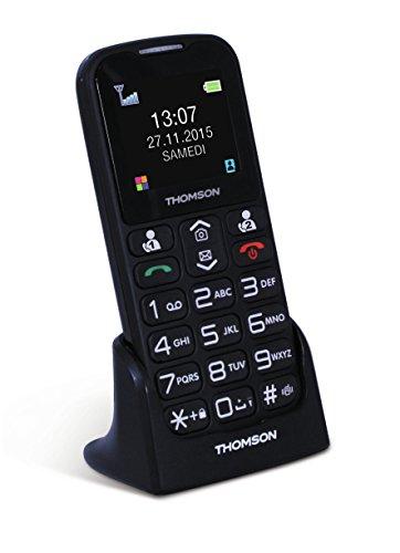 """Thomson SEREA51 1.77"""" 73g - Teléfono móvil (SIM única, MiniSIM, 640 x 480 Pixeles, Calendario, Ión de Litio, gsm)"""