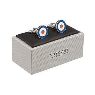 RAF Manschettenknöpfe, in Onyx Art-Box