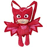 C Y P CYP–Peluche Zaino PJ Masks 3D buhita, Colore: Rosso, 102mcpj