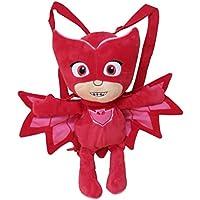 C Y P Peluche Mochila PJ Masks 3D Buhita Color Rojo CYP 102MCPJ
