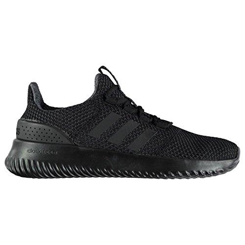 adidas Cloudfoam Ultimate Trainers Mens Black Athletic Sneakers ...