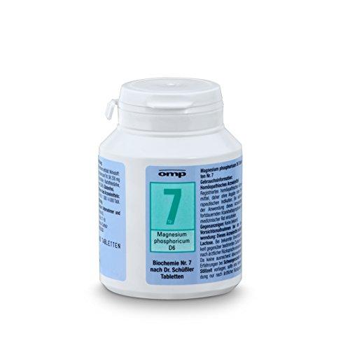 Schuessler Salz Nr. 7 Magnesium phosphoricum D6 | 400 Tabletten | Das Salz der Muskeln und Nerven | glutenfrei