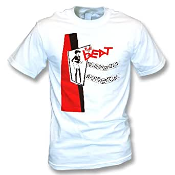 The Beat Mens T-shirt In White (Small)