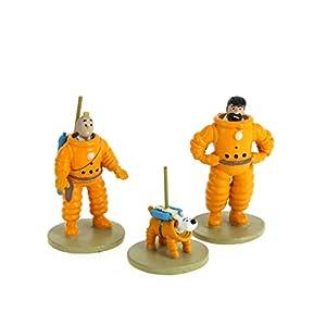 Moulinsart Set de Figuras Tintín, Haddock y Milú cosmonautas 46305 (2016) 3